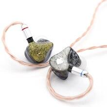 Queen Audio QM80 8BA Balanced Armatures HiFi in-Ear Earphones with Detachable 0.78mm 2Pin Cable