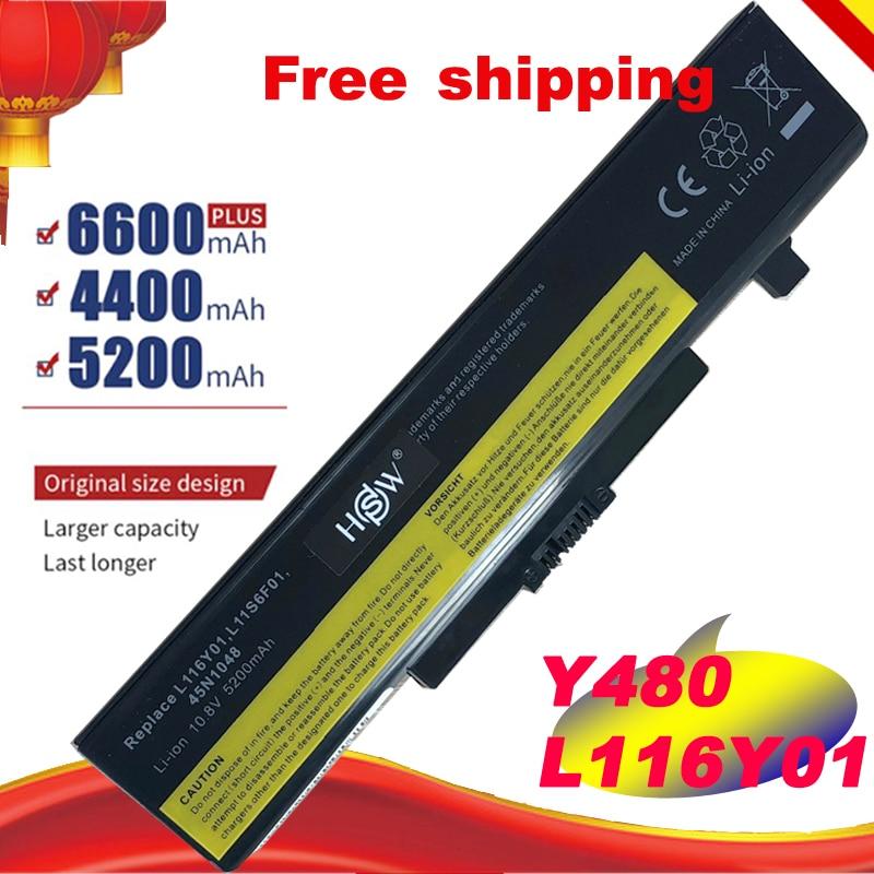 Аккумулятор для ноутбука LENOVO G580, Z380, Y480, G480, V480, Y580, L11S6Y01, L11L6Y01, L11O6Y01, L11S6F01, L11P6R01, бесплатная доставка