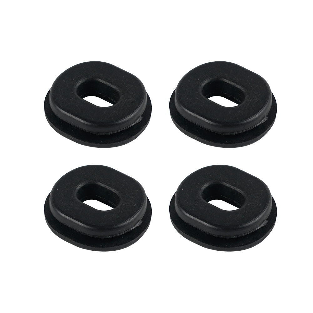 H2CNC Repro Side Cover Grommet Set Of 4 83551-300-000 FOR Honda CB350 CB400F CB450 CB500