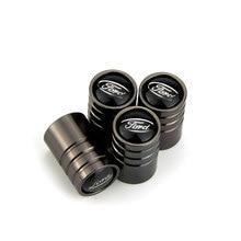 Wheel Tire-Valve-Stem-Caps Edge-Escape F150 RANGER Ford-Logo Focus Air-Cover Alloy 2-3