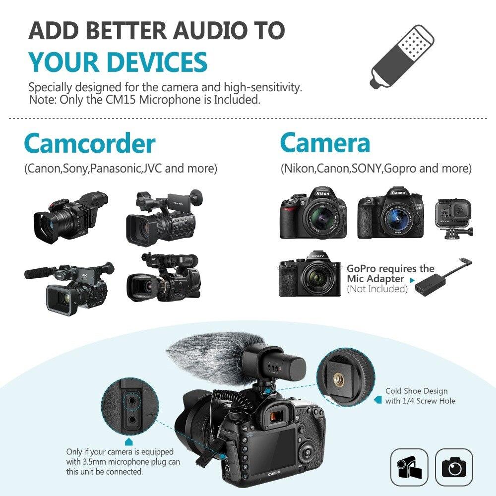 Accessories Accessories & Supplies ghdonat.com Neewer CM15 Camera ...
