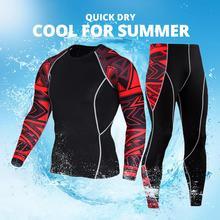 Herobiker homens jaqueta da motocicleta + calças de secagem rápida terno do esporte correndo conjunto camiseta respirável apertado longo topos & calças para o verão