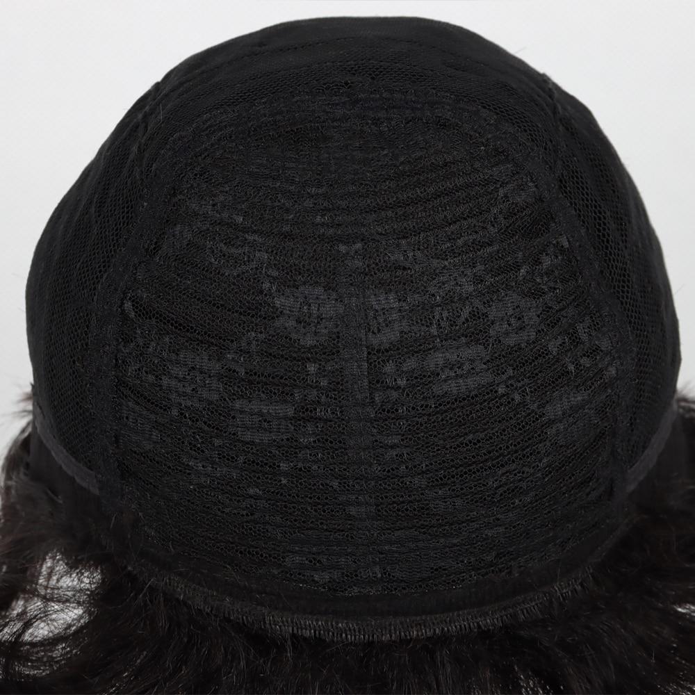 Купить длина плеч 100% человеческие волосы вырезанные парики с челкой