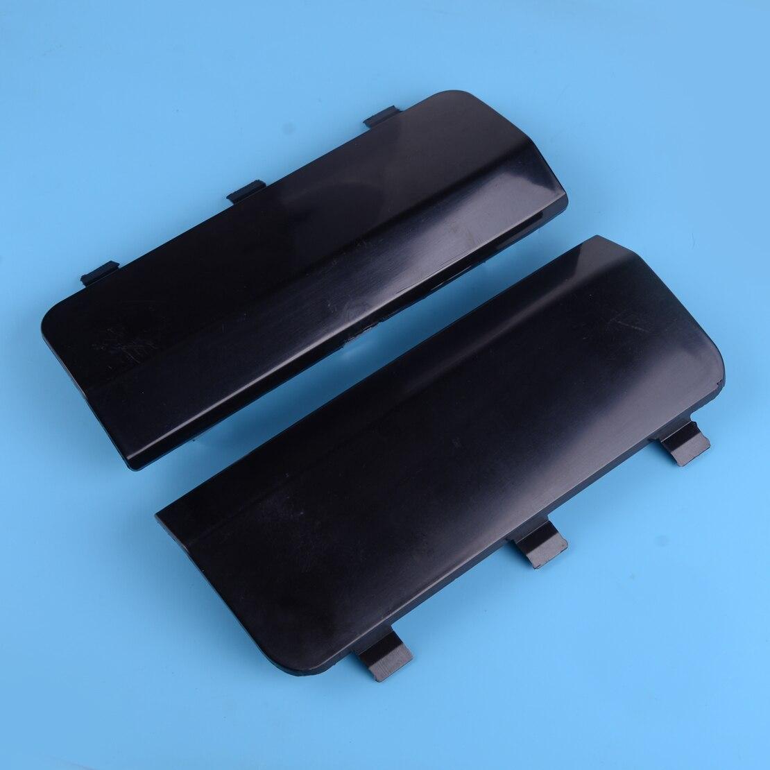 Beler 2 adet arka tampon Tow kanca kapak Cap A1638801605 A1638801705 Mercedes için ML320 ML350 1998-2001 2002 2003 2004 2005