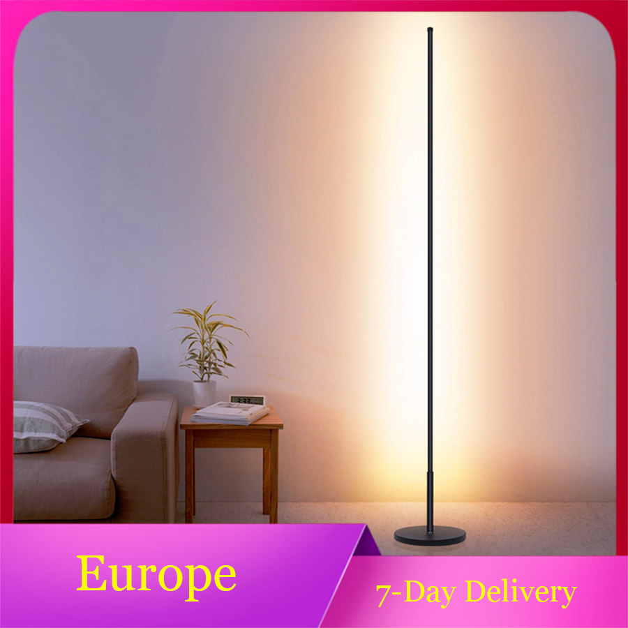 Modern Minimalist Floor Lamp LED Dimmable Floor Lights Nordic Living Room Bedroom Sofa Standing Lamp Indoor Decor Light Fixtures