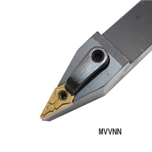 цена на 1pc MVVNN2525M16 MVVNN2020K16 MVVNN1616K16  External turning tool holder CNC lathe cutter without blade high quality material