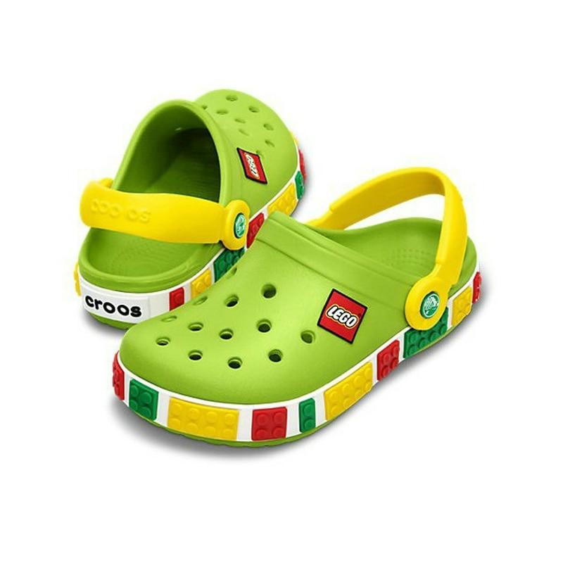 2019 Fashion Boy Girl Beach Slippers Children Sandals Summer Cartoon Kids Shoes EVA Resistance Breathable Antislip Baby