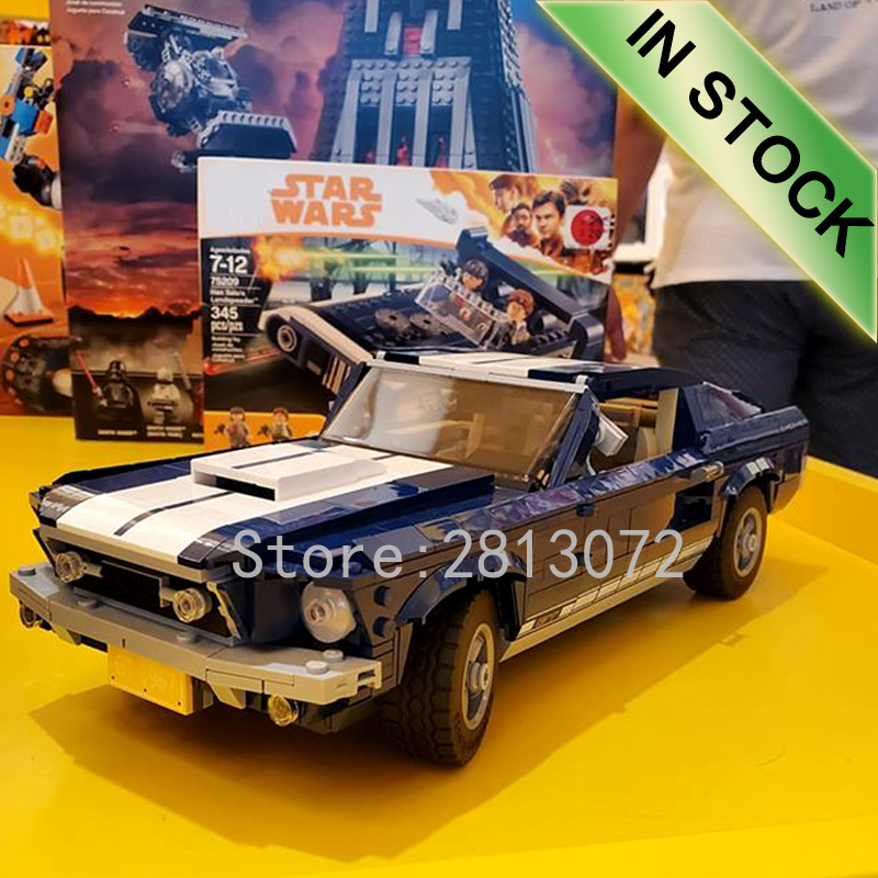 In Stock Creator Car Technic Forded Mustanged 21001 21002 21003 21047 Mini Cooper Building Blocks Compatible 10220 10242 10252