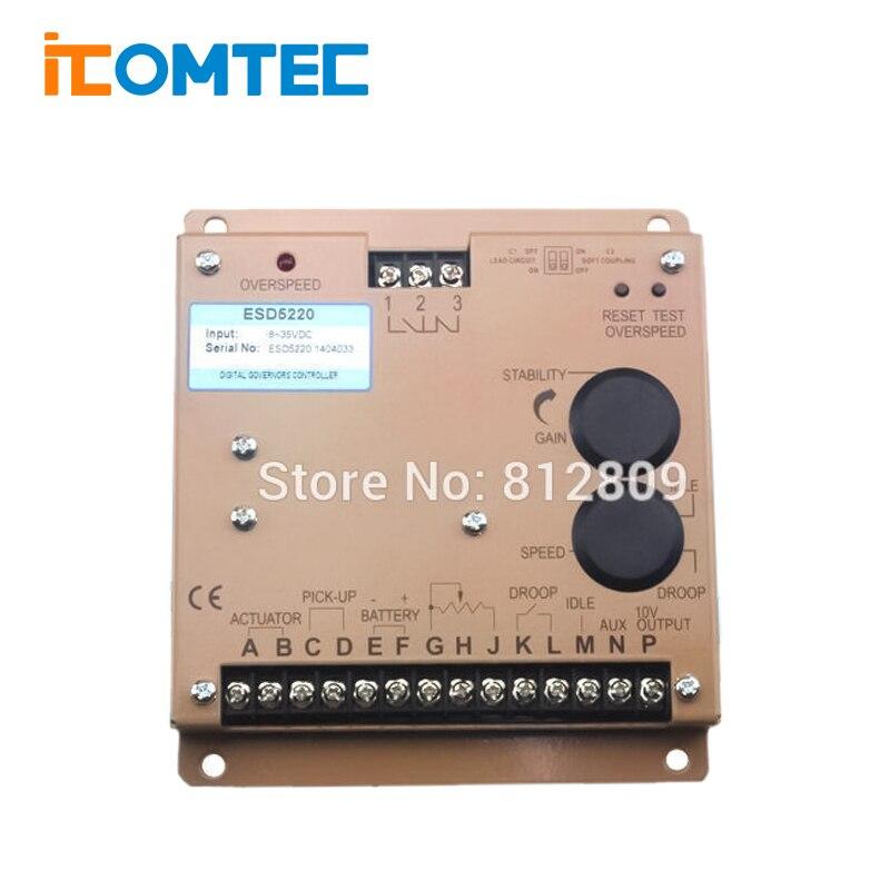Регулятор скорости регулятора ESD5220E ESD5220