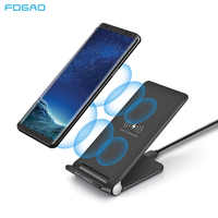 15W Qi Wireless Charger for Samsung S9 S10 iPhone 11 X XS MAX XR 8 for Xiaomi 9 Huawei P30 Pro 10W Fast Wireless Charging Stand