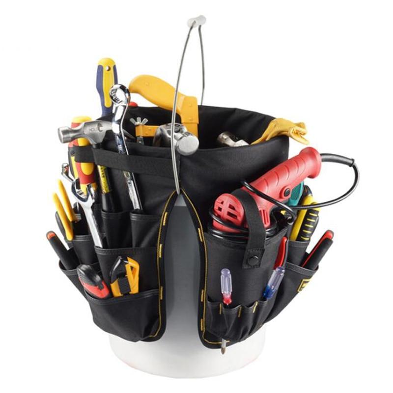 Multi-Function Repair Kit Electric Bucket Tool Bag Home Garden Hardware Tool Storage Bag Repair Kit Construction Toolbox