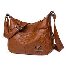 Nowe mody miękkie skórzane torby damskie torebki na ramię luksusowe torebki damskie torebki projektant torebki Crossbody dla kobiet 2021 torba