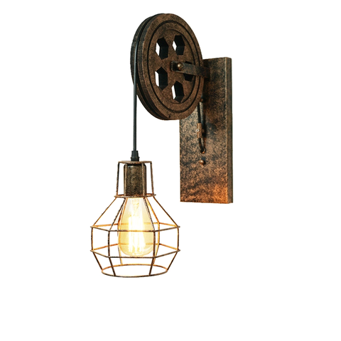 ce ferro do vintage luz de parede interior e27 luminaria flexivel retro quarto design da