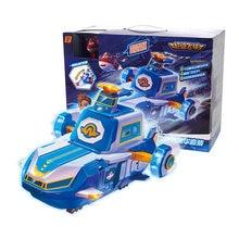 Mais novo auldey abs super asas cena base super incluem mini jato com som e luz deformação brinquedos conjunto