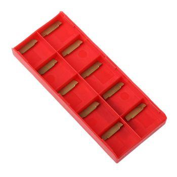1 zestaw MGEHR1212 zewnętrzne narzędzie do rowkowania uchwyt z wkładkami z węglika tokarka tokarka tokarka tokarka zestaw narzędzi tanie i dobre opinie BENGU Maszyny do obróbki drewna C63E5AC801427 Lathe Turning Tool Narzędzia do obróbki drewna Alloy Steel+Hard Alloy Handle Length 100mm 4 9in Handle Diameter 12mm 0 4in