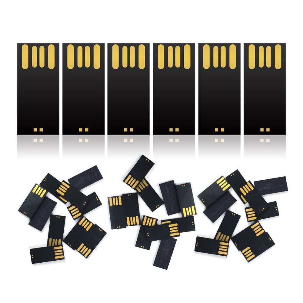 50pcs USB Flash Drive Chip 4GB 8GB 16GB 32GB 50GB 64GB 128GB 512MB 1GB 2GB Pendrive Chip USB Flash Drive Plastic Chip