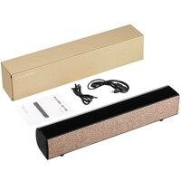 Hiasia Bluetooth 4 2 barra de sonido inalámbrica Bluetooth altavoz TV Home Theater sonido sistema portátil Subwoofer altavoz
