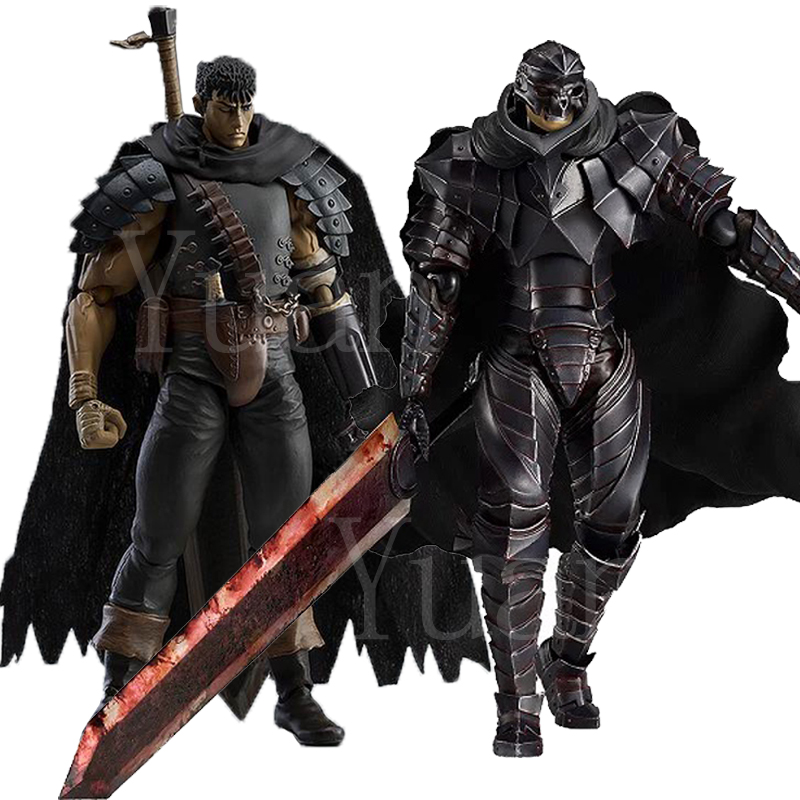 6inch Figma 359 Game Berserk Figma 410 Beruseruku Black Swordman Action Figure Model Toy Doll Gift