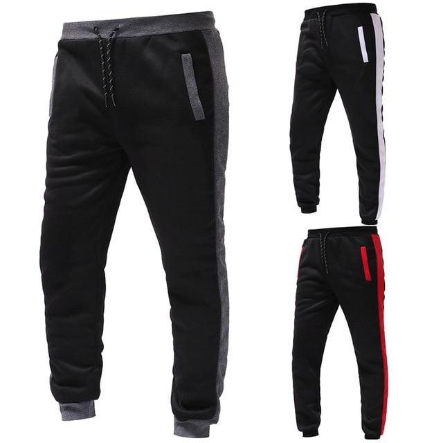 New Fashion Men Set Zipper Hoodies+Pants Sets Male  6