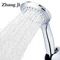 5 modi ABS kunststoff Bad dusche kopf großen panel runde Chrome regen kopf Wasser saver Klassische design G1/2 regen showerhead ZJ039