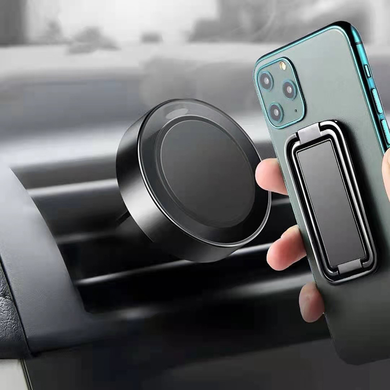 Retractable Magnetic Phone Ring Holder 2