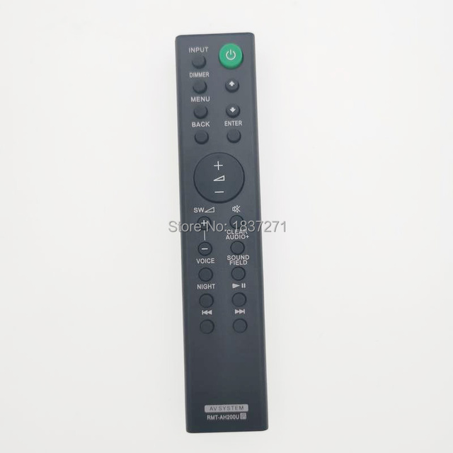 remote control RMT AH200U for sony HT RT4 HT RT3 HT CT390 Sound Bar Home Theater system