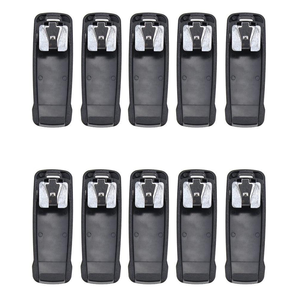 10X Walkie Talkie Belt Clip For Vertex  EVX-530 EVX-539 VX-260 VX-451 VX-454 VX-456 VX-459 AAJ68X001