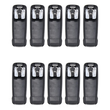 10X Walkie Talkie Belt Clip for Vertex  EVX-530 EVX-539 VX-260 VX-451 VX-454 VX-456 VX-459 AAJ68X001 купить недорого в Москве