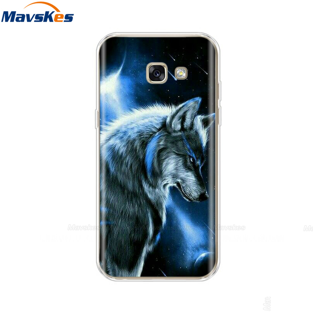 silicone Cases For Samsung Galaxy A5 2017 Cover Silicon Colorful TPU Back Case Cover For Samsung A5 2017 A 5 A520 A520F 5.2 inch