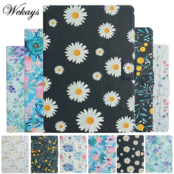 цена на Coque For Apple IPad Mini Case 7.9 inch Daisy Flower Leather Smart Cover For IPad Mini 5 4 3 2 1 7.9 inch Tablet Cover Case Kids