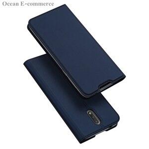 Image 2 - DUX DUCIS peau tactile étui en cuir pour Nokia 2.3 luxe Ultra mince fente pour carte support portefeuille à rabat housse pour Nokia 2.3 coque