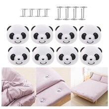 Clips Sheet-Holder Bed-Sheet Panda-Shape Grippers Mattress Quilt Non-Slip Plastic Cute
