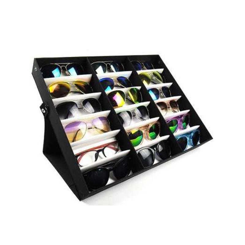 18 Grid Professional Sunglasses, Sunglasses Storage Case