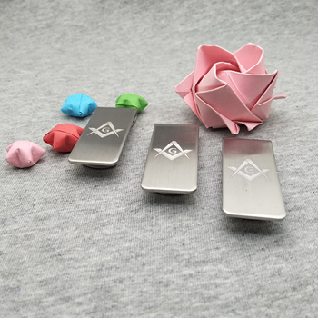 Personal wedding gifts for guest Paper clip custom with wishes on wallet good quality money men 20pcs a lot