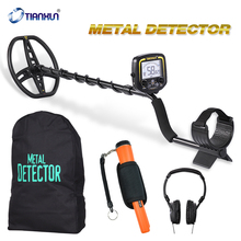 TX-850 + GP360 +Headphone +Bag Portable High Sensitivity Underground Metal Gold Detector Hunter Finder LCD Display Depth 2.5m