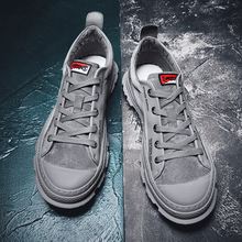 2019 Spring Shoes Men Sneakers Casual Soft Leather