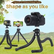 цена на Ulanzi Flexible Octopus Smartphone Tripod Stand with Ball Head for iPhone X,Selfie Monopod Bracket for GoPro 6 Sjcam 4k Action