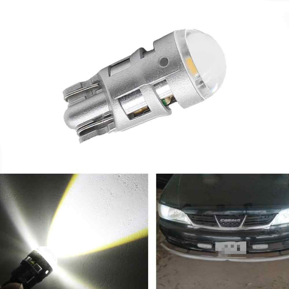 2PCS w5w led T10 LED Bulbs Canbus 30301 SMD 3014 For Car Parking Position Lights,Interior Map Dome Lights 12V White Amer bright