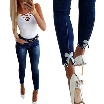 2020 Straight Pants Vintage Jeans Woman High Waist Trousers Lace Skinny Pencil Female Full Length Mom Jeans Cowboy Denim Pants basic denim jeans women high waist jeans vintage mom style straight jeans casual ankle length cowboy pants