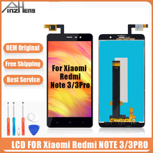 AAAA Original LCD For Xiaomi Redmi Note 3 3 Pro Screen Display Digitizer Assembly Replacement LCD For Xiaomi Redmi Note 3 Screen high quality replacement lcd display touch screen digitizer assembly for xiaomi redmi note 3 pro prime hongmi note 3