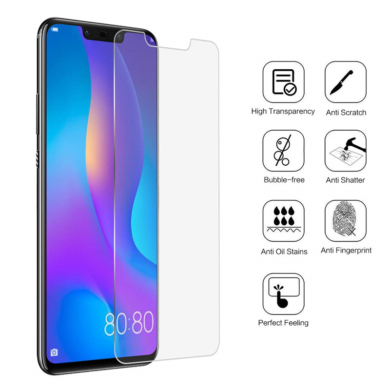 Protective Glass For Huawei P20 Lite Pro P30 P10 Mate 20 Lite P Smart 2019 P8 P9 Lite 2017 Tempered Glass Screen Protector Film