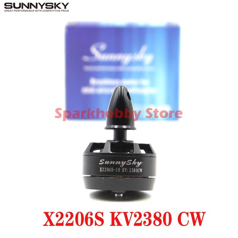 Sunnysky X2206S  2380KV Outrunner 2206 Motor Sin Escobillas Cw  Para 250 Rc 330 De Multicopter A Push Back Or Back Plane