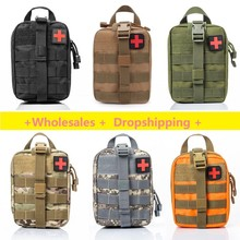 Survival Pouch Outdoor Medical Box Large Size SOS Bag Package Tactical First Aid Bag Medical Kit Bag Molle EMT Emergency cheap CN(Origin) Tactical Medical Bag Oxford cloth( 600D nylon) 15*11*21cm 15 x 9 5 x 21cm Waist Pack Camping Climbing Bag Emergency Case Survival Kit
