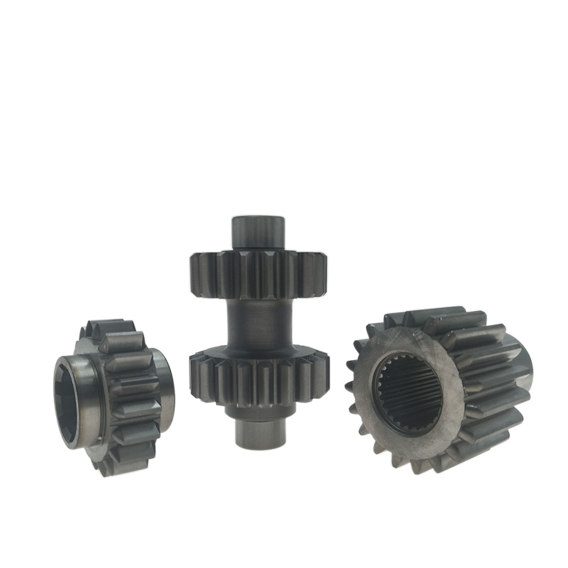 18 19 teeth Double Gear For Kazuma Dingo Falcon Cougar <font><b>reverse</b></font> gearbox For <font><b>250cc</b></font> ATV UTV <font><b>Engine</b></font> Parts image