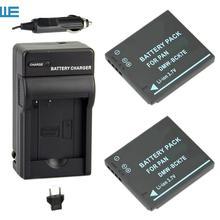 DMW-BCK7 DMW-BCK7E BCK7 BCK7E NCA-YN101G Батарея+ Зарядное устройство для цифрового фотоаппарата Panasonic Lumix DMC-FP7 DMC-FS16 DMC-FS18 DMC-FS28 FS35 FS37 FS40