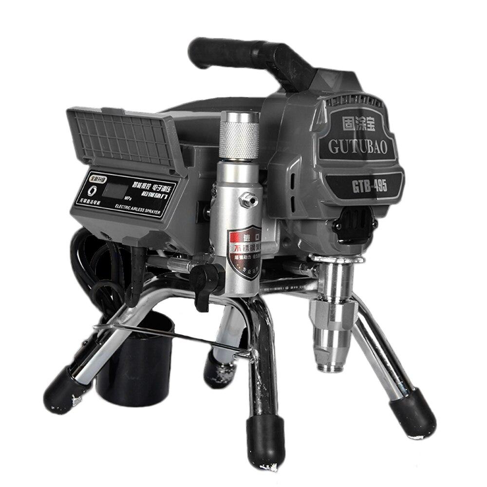Tools : Professional airless spraying machine Professional Airless Spray Gun 2500W 2 5L Airless Paint Sprayer 495 painting machine tool