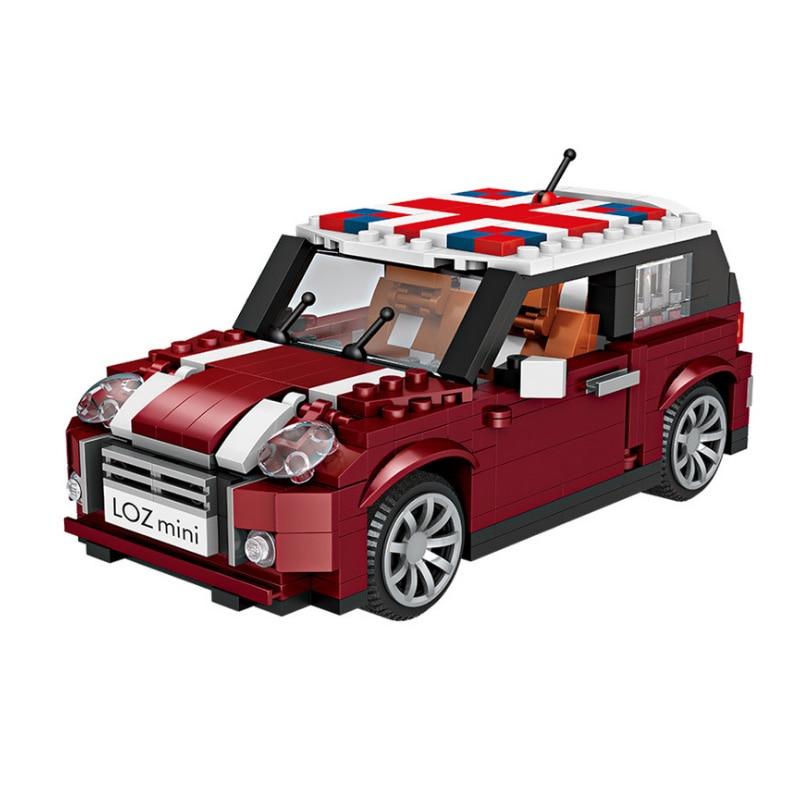 Image 5 - لوز تكنيك كتل صغيرة نموذج سيارة مركبة اللبنات سباق السيارات بيع الآيس كريم هوت دوج شاحنة الطوب ألعاب تعليمية هداياحواجزالألعاب والهوايات -