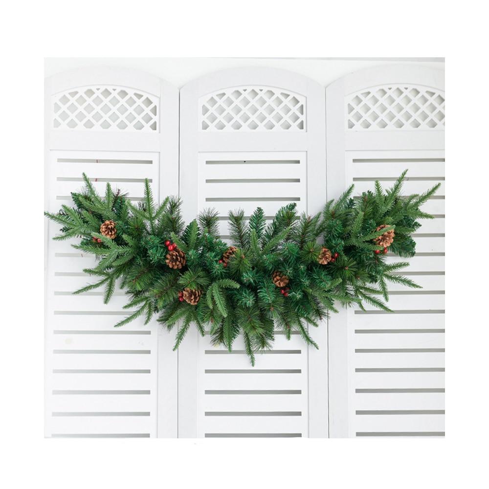 Christmas Cow's Horns Shape Rattan/Wedding Rattan/Artificial Flower Rattan/Rose simulation flower lintel wedding decoration