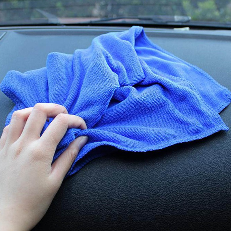 1Pcs Microfibre Cleaning Auto Soft Cloth Washing Cloth Towel Car Home Cleaning Micro Fiber Towels