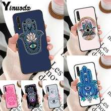 Fatima Hand Customer Phone Case For Huawei Mate 30 Pro P20 P30 P40 pro lite Y7 Y6 2019 case for Honor 8X 8A 10 20lite 10i